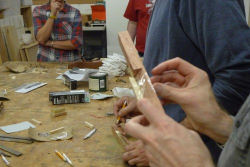 Ron Hock and the Makeville Spokeshave Build 5