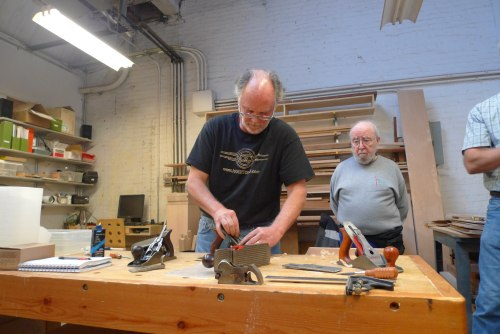 Ron Hock and the Makeville Spokeshave Build 6