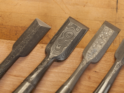 Decorative Japanese Chisels 5