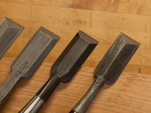 Decorative Japanese Chisels 6