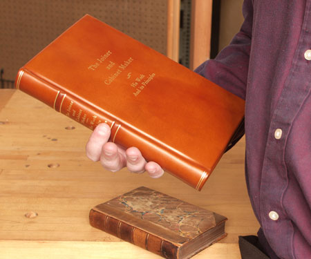 The Joiner and Cabinet Maker - Limited Edition Bound in Leather. 4