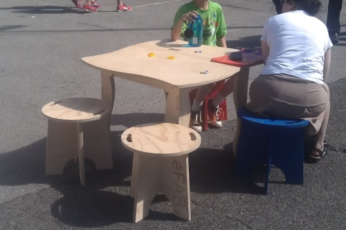 Maker Faire Furniture 7