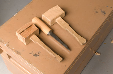 Mallet Soft - Handle Hard 4