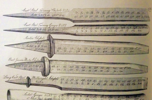 English Mortise Chisels - Mid-18th Century to Now -  Part 3 - The Body of The Tool 5
