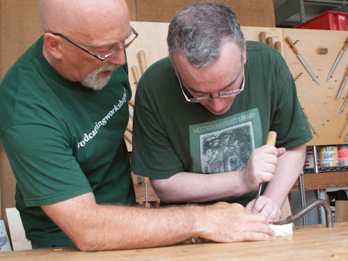In Which I Start a Course in Woodcarving With Chris Pye 4