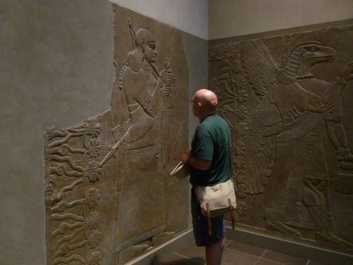 A visit to the met with chris pye