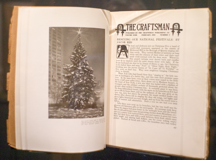 The Craftsman Magazine, Christmas, & Jacob Riis 4