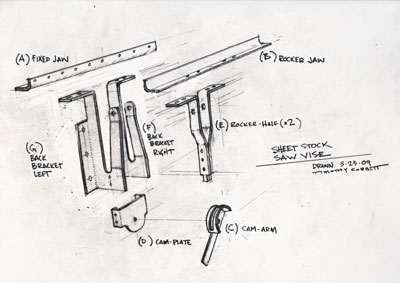 Saw Vise Project - Part 2 - The Gramercy Tools 14 Inch Saw Vise 4