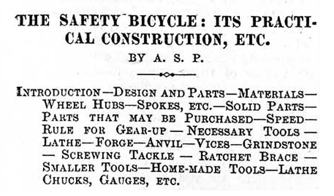 WORK No. 107- Published April 4, 1891 7