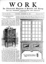 WORK No. 132 - Published September 26, 1891 4