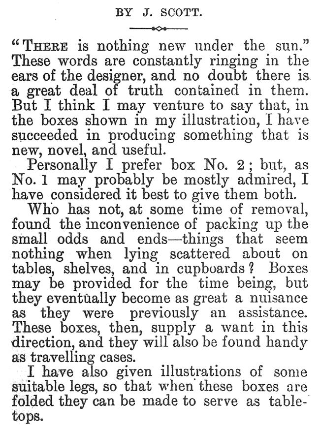 WORK No. 136 - Published October 24, 1891 7