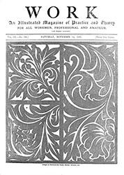 WORK No. 139 - Published November 14, 1891 4