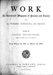 WORK No. 105- Published March 21, 1891 5