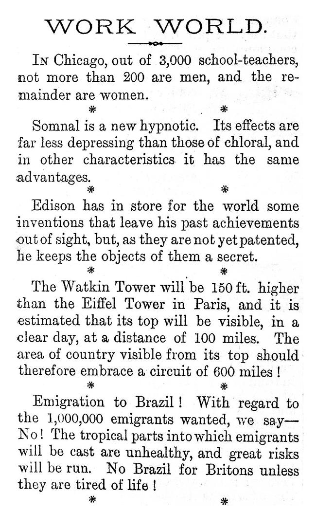 WORK No. 191 - Published November 12 1892  5