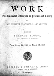 WORK No. 104- Published March 14, 1891 5