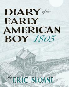 Diary of an Early American Boy - Hardcover Edition