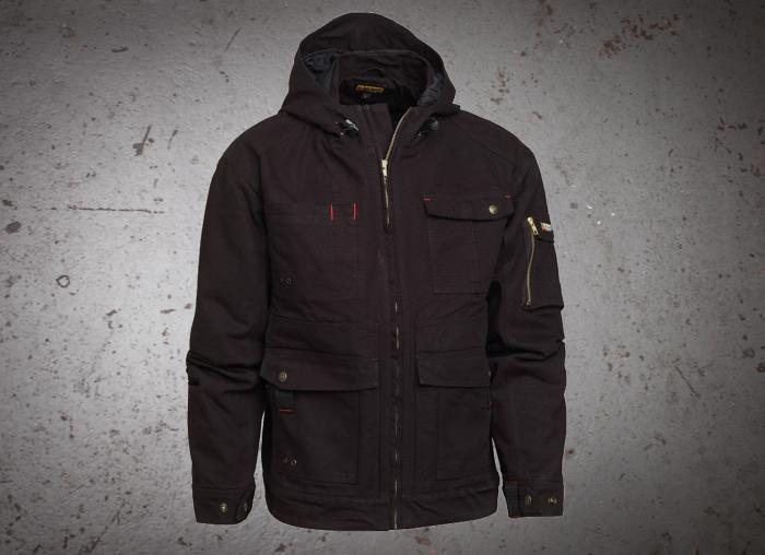 Blaklader Brawny Lined Canvas Jacket with Hood