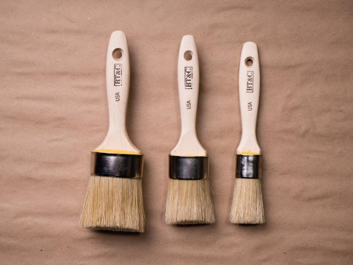 Set of all three Chisel Tip Brushes