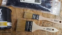 BT&C Chip Brushes with Stainless Ferrules