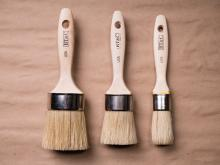 Set of all three Flat Tip Brushes