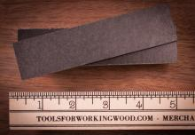 "Pair of 1/4"" Black Micarta Handle Scales - fit all kits"