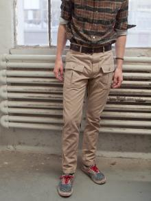 Engineered Garments  - Huntsman Pant - Khaki 8oz Canvas