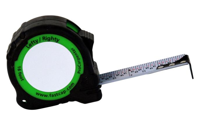 FastCap Pro Carpenter Standard Reverse aka Lefty Righty Tape Measures