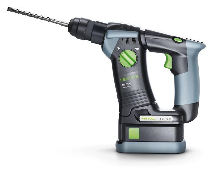 festool bhc 18 cordless hammer drill. Black Bedroom Furniture Sets. Home Design Ideas