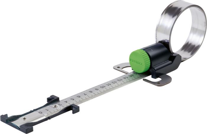 "Very cool circle giant range cutter expands to cut any circule with a radius from  2-11/16"" to 9' 10-1/8"". Requires the base adapter #497303 (above) to connect to the Carvex (#497304)"