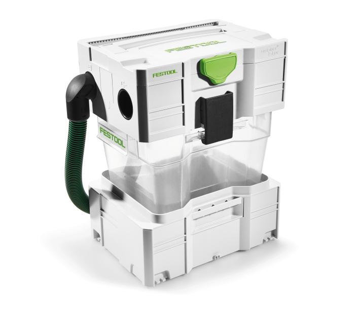 CT-VA 20  - Cyclone unit containing entire system including 1 plastic container (#204083)