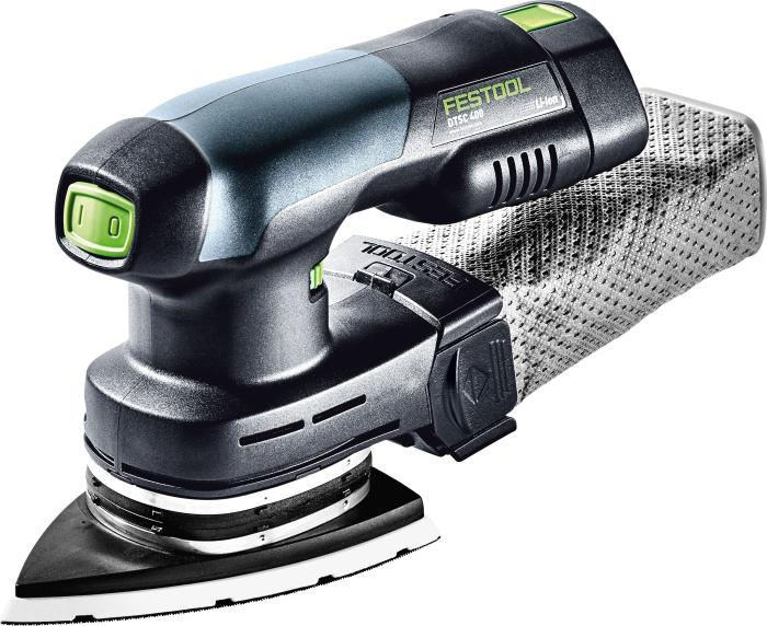 FESTOOL Cordless Delta Sander DTSC 400 Li-Plus Sander and Accessories