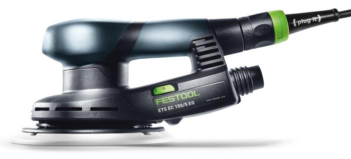 ETS EC150/5 EQ-Plus Compact Brushless Sander in Systainer 2  (#575051)