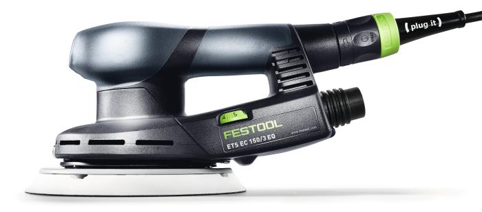 ETS EC150/3 EQ-Plus Compact Brushless Sander in Systainer 1  (#575039)