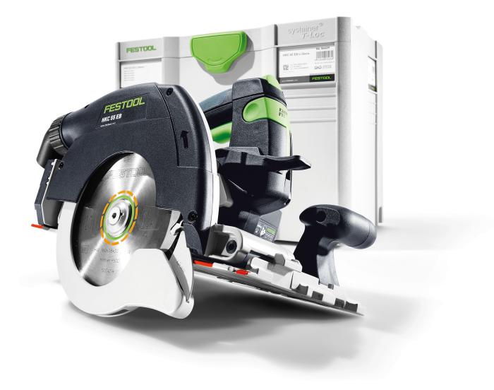 Circular Saw HKC 55 EB Basic, Cordless, Includes Saw,Blade,  and Systainer Only. No Batteries (#201359)