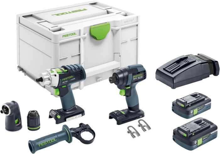 Festool  Impact Drill and PDC 18 4.0Ah Combo Set 576490