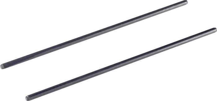 Pair of guide rods for attaching OF2200 to the edge guide or guide rail (#495247)