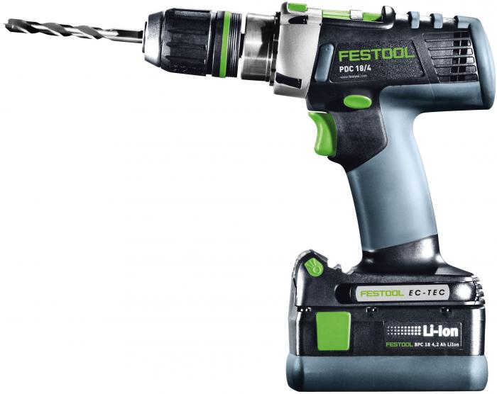 Festool PDC 18 4-Speed Drill/Hammer Drill