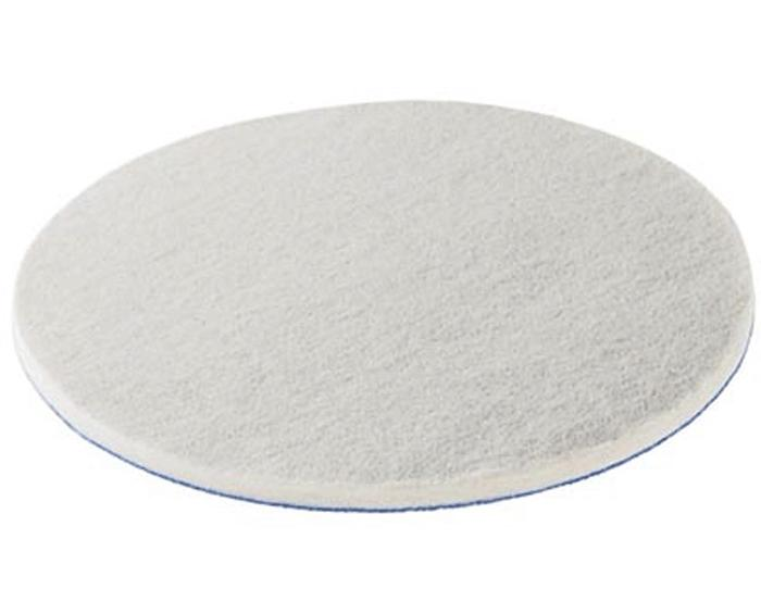 "6"" diameter soft felt pad for pre-polishing new paints and plastics - 1 piece (#485972)"