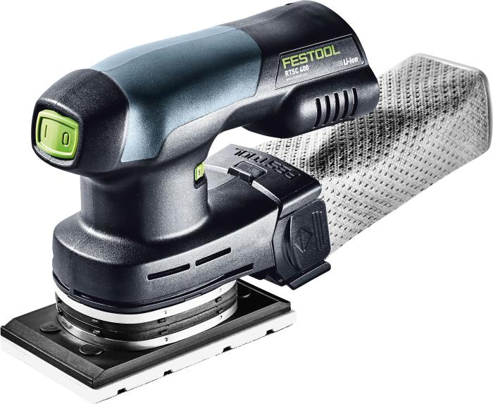 Cordless orbital sander RTSC 400 Li-Basic - No batteries, charger, or plug-in  adapter(#575382)
