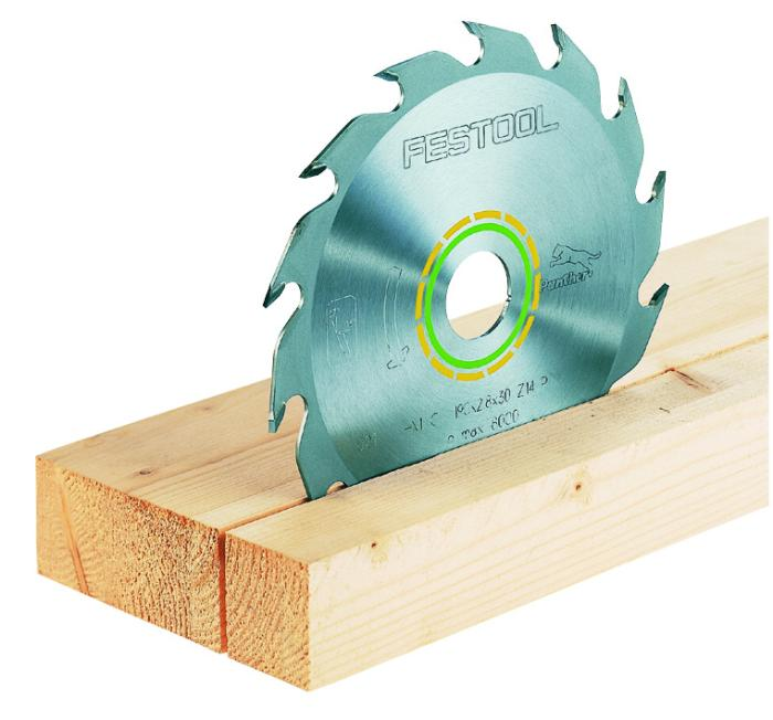 "14 tooth ATB ""Panther"" blade for fast rip cutting  in wood with less force. (#496305)"