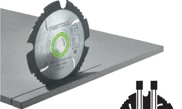 Diamond Tipped Saw Blade for cement and gypsum bonded chipboard and fiberboard (#202958)