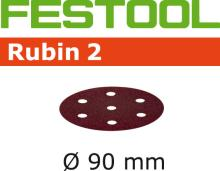 Festool  90mm Diameter Rubin 2 Sanding Disks