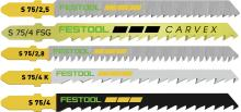 25 Blade assortment for wood. 5 each of (204256, 204316, 204260, 204265, 204305)   (#204275)