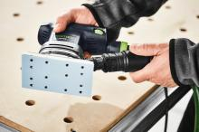 "FESTOOL RTS 400 REQ 3-5/32"" x 5-1/4"" Orbital Sander and Accessories"