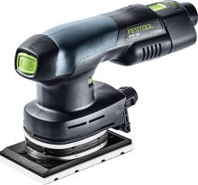 Cordless orbital sander RTSC 400 Li-Set. Includes the sander, 2 x 3.1 BT batteries, TLC charger,and a plug-in adapter (#575728)