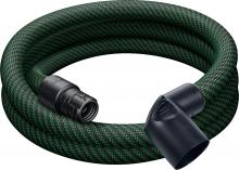 Smooth Suction Antistatic  Hose, 27mm diam. 3.5M (11.5') for Mini/Midi (#500680)