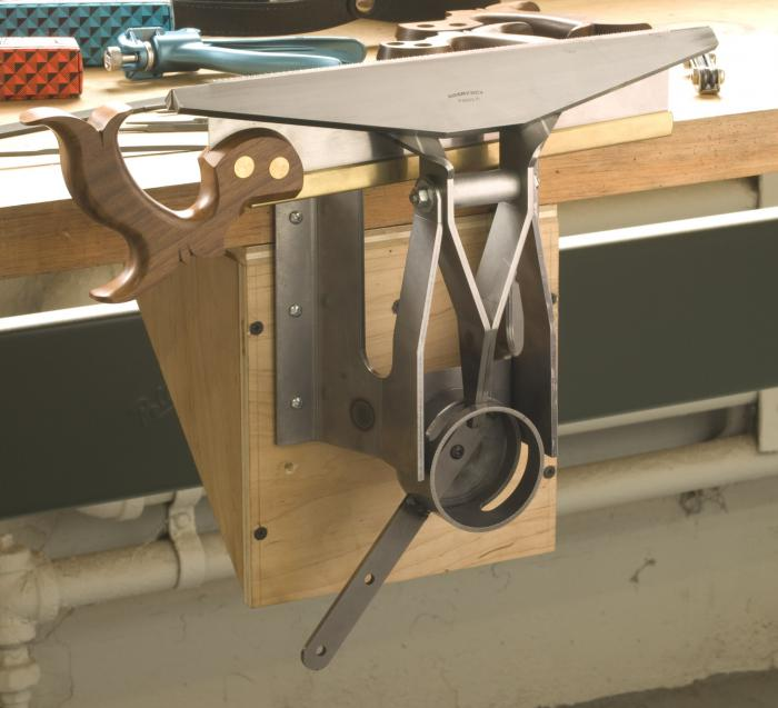 The Gramercy Tools 14 Quot Saw Vise