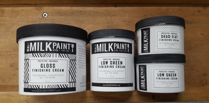Real Milk Paint Finishing Cream
