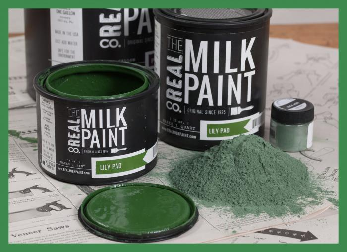 Real Milk Paint - Greens