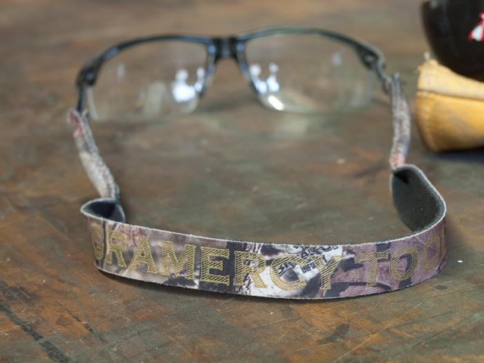 Gramercy Tools Croakies - Mossy Oak Breakup Croakies in their natural habitat